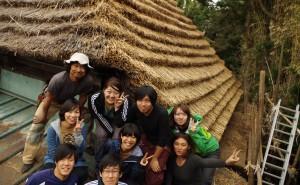 かやぶき古民家修復によるコミュニティ活性化 – 千葉大学岡部研究室による取り組み