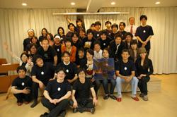 株式会社かっぺ10周年イベント全体写真(最前列左:岡野大和さん)