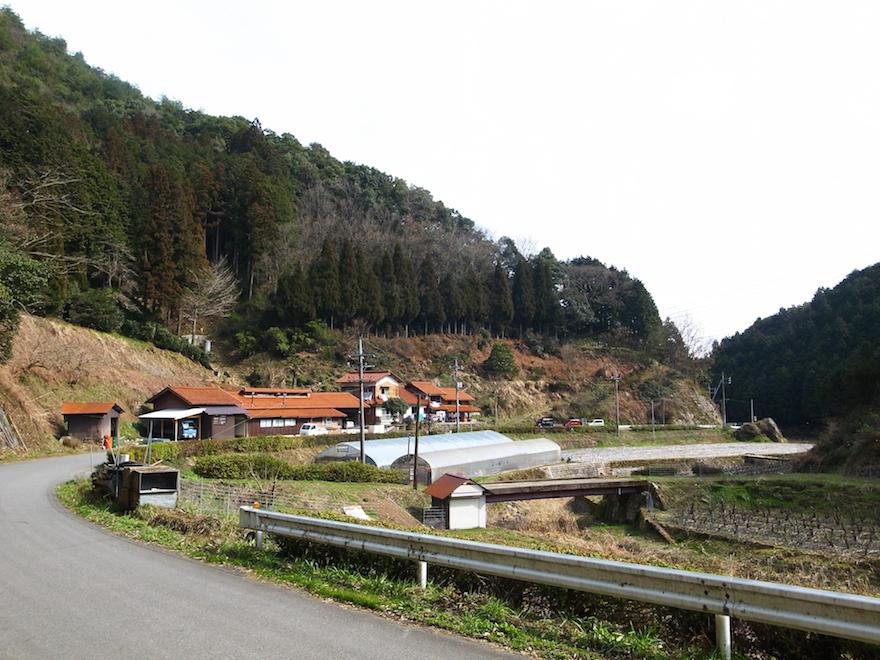 商人集落の風景