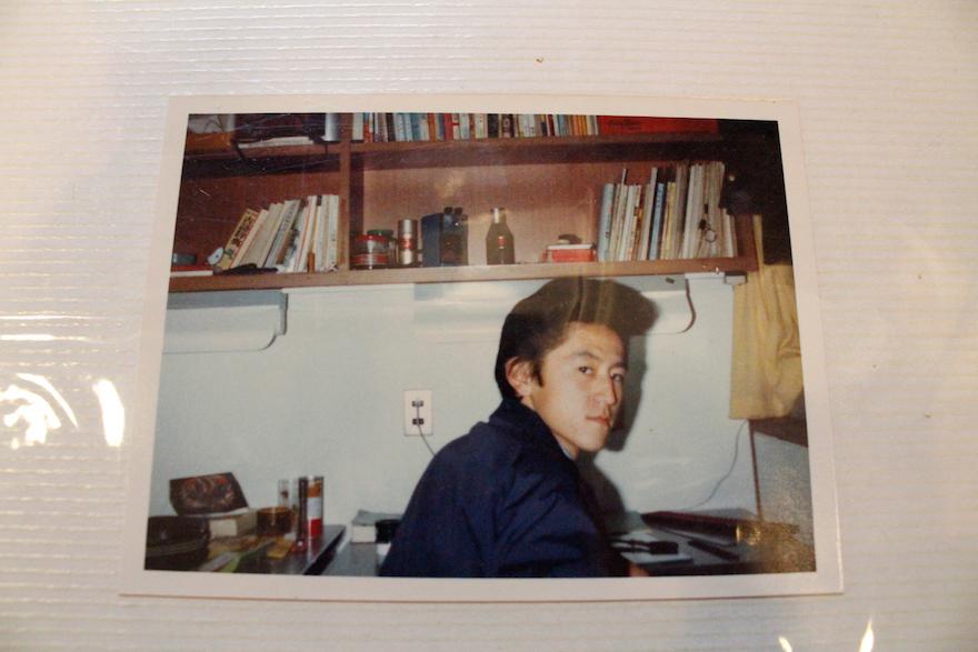 赤松さんの高校時代の写真。
