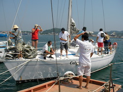 第6回移住体感ツアーではヨットでクルーズが実現