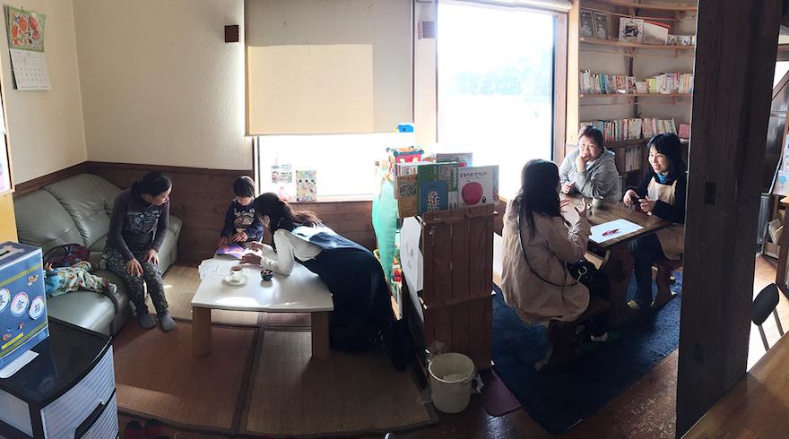 色々な人が集い、つながる場となっているほっとカフェ