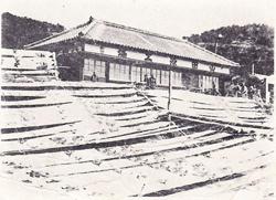 祖父幸吉さんが修行した山田染工場