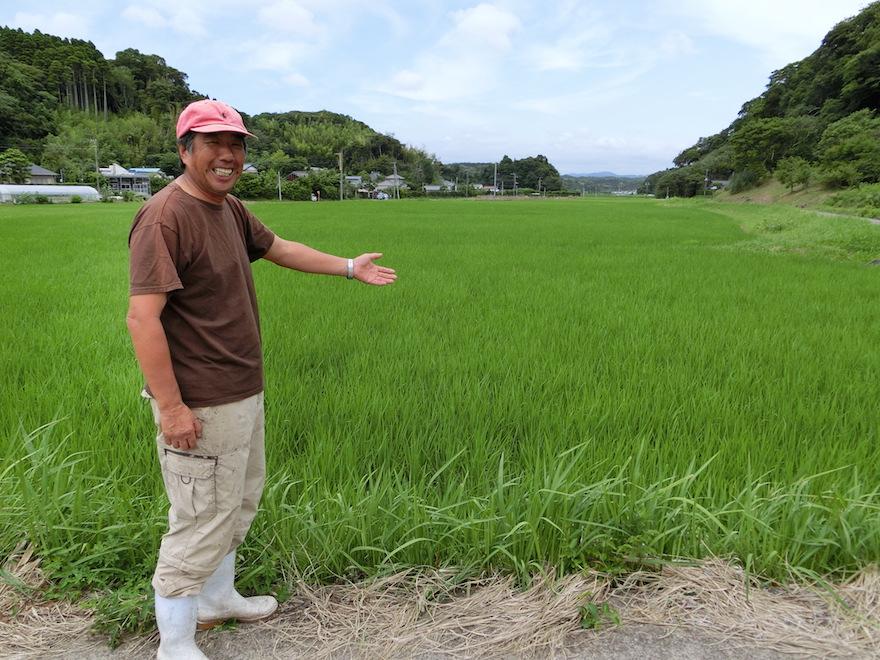 「たのくろ里の村」代表の川原孝さん