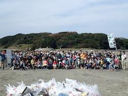 (4)国際海岸クリーンアップ~沖ノ島
