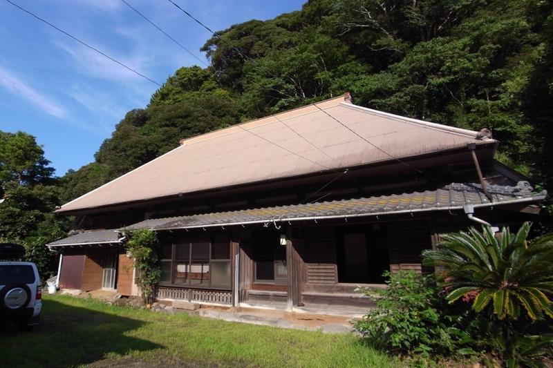 南房総市山名(旧三芳村)にある改修中の築300年古民家