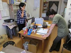 事務所は火木金10:00~16:00に開設されている