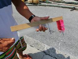 サバ漁に使うハイカラという漁具