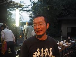 (総合地球環境学研究所 奥田昇さん)