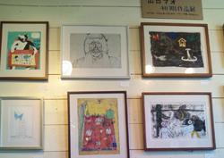初期の作品 展示会も年間を通し、さまざまな企画展を開催している
