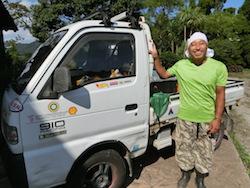 半農半メカニックと謳い、農業と機械整備を行っている池田剛さん