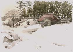 棚田と伝統古民家の集落
