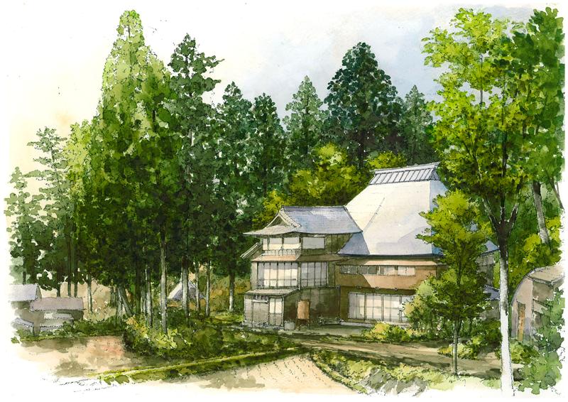 体験ツアーなどの拠点施設として活用されている農家民泊「古民家ゲストハウスりぜん」