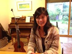 音楽家で館山ふるさと大使でもある深津純子さん