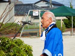 NPO法人ななうら理事長 山本初治さん