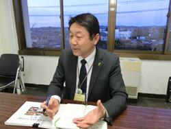 館山市農水産課食のまちづくり担当課長 荒井毅さん