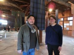 齊藤裕司さん(左)と岸田一輝さん(右)