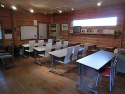 農人舎内スペースを活用して始まった学習塾