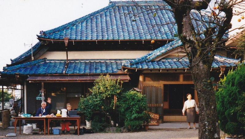 ジャックスプレイスでのジャック・マイヨール氏 古民家は成田さんがジャック氏のために借金をして購入した