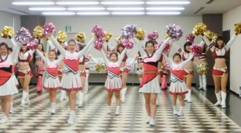 M☆Splash!!が指導する「マリーンズ・ダンス・アカデミー」の受講生は、現在800名を超える