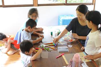 自分の子どももメンバーの子どもも、お客さんの子どもも一緒に。