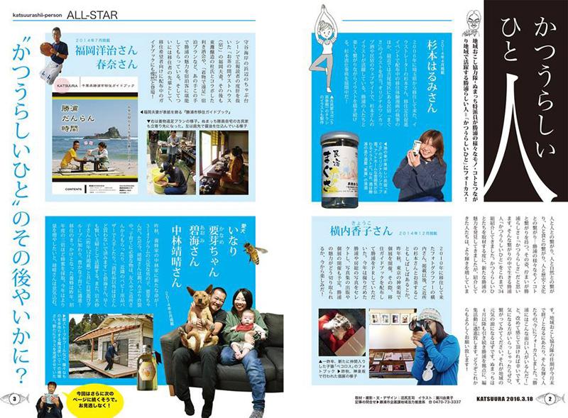沼尻さんが文章、写真、デザインを担当した「かううらしいひと」2016年3月号総集編では、取材した人々のその後を追った