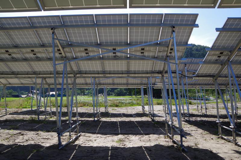 ソーラーシェアリングのタイプ1