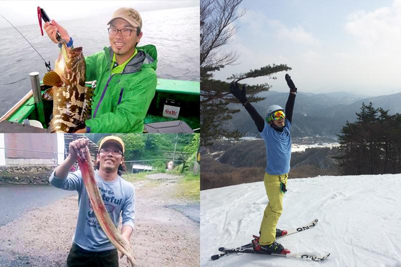 夏は釣り・冬はスキーに勤しむ京村さん