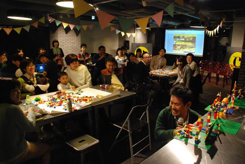 2015年3月に千代田区で開催された「ローカルシフト vol.10」の様子 移住や里山暮らしの実践者が登壇し、交流を深めた