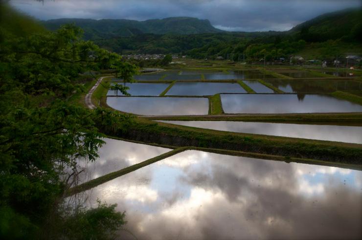 群馬県利根郡川場村にある田園の風景 飯田さんは20年以上川場村の写真を撮り続けている