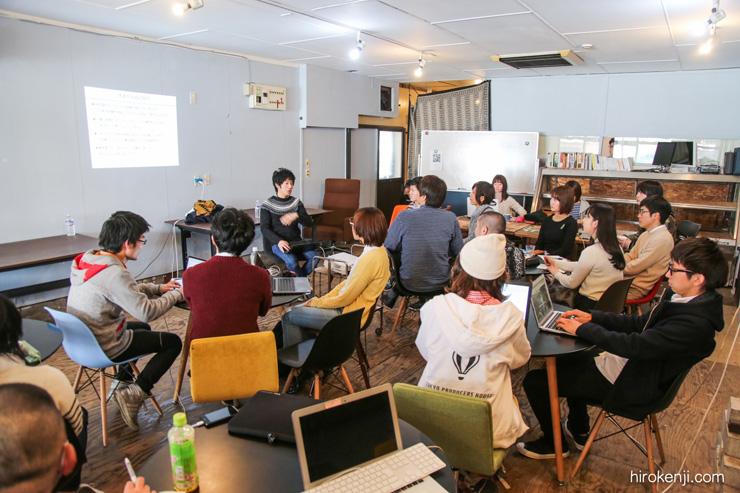 田舎フリーランス養成講座では山口さんご自身が講師を務める他、各分野のエキスパートを招聘して講座を開設している
