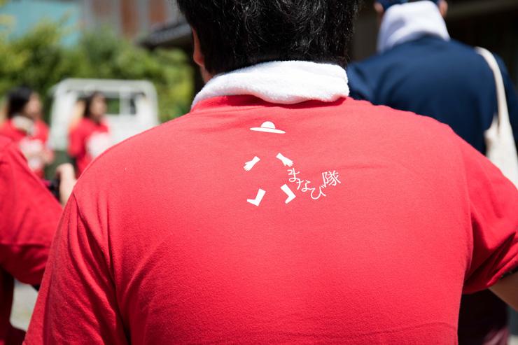 棚田まなび隊オリジナルTシャツ。これを着れば今日からあなたも「棚田まなび隊」!!