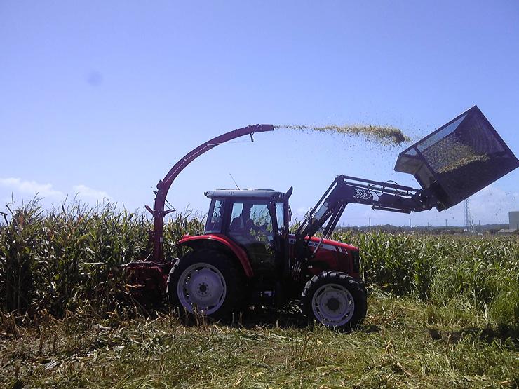 コントラクター事業は、土地をまとめて大型の農業機械で耕作するため効率的に農地を管理できる利点がある