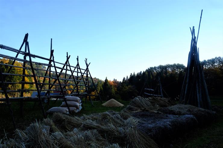 周辺には日本の原風景,農村の暮らしが残っている