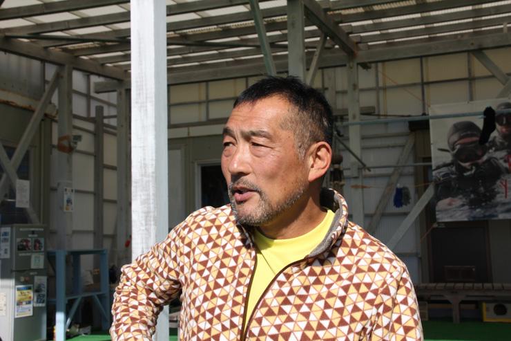 伊戸ダイビングサービスBOMMIE代表 塩田寛さん