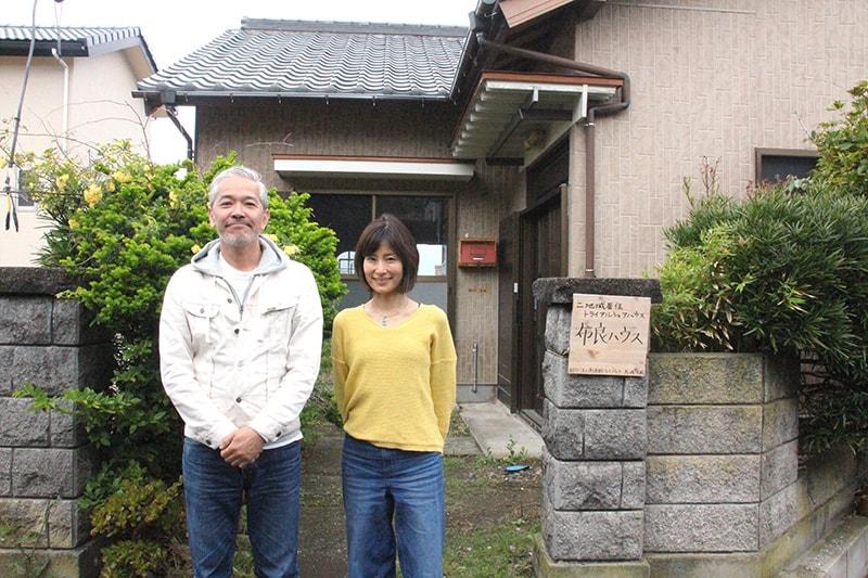 NPO法人南房総リパブリック理事長馬場未織さん(右)と理事の内山章さん(左)