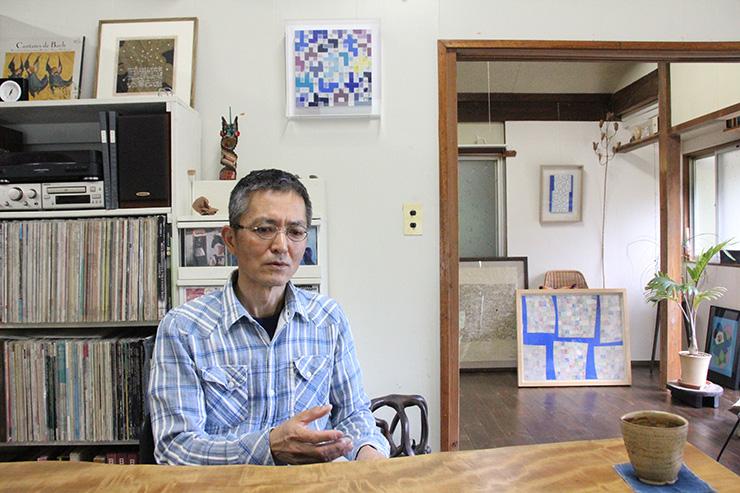 坂本さんのアトリエ兼住居