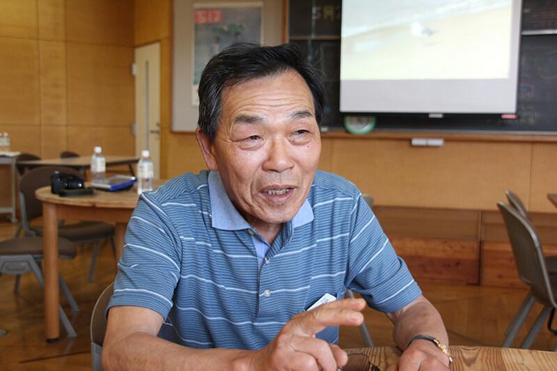 やまゆりの会副会長 米本郁徳さん