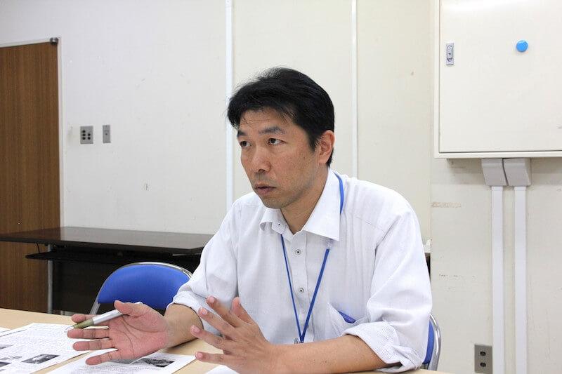 南房総市役所 相川健吾さん